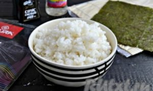 Как правильно приготовить рис для суши
