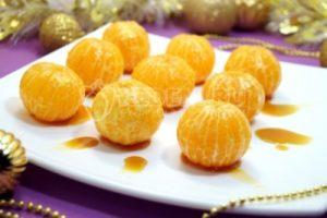 Мандарины в карамели «Новогодние»